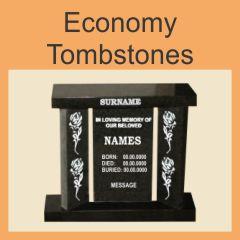 Economy Tombstones
