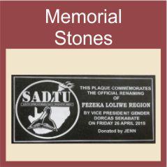 Memorial Tombstones