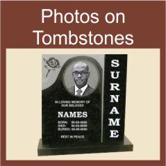 Photos on Tombstones